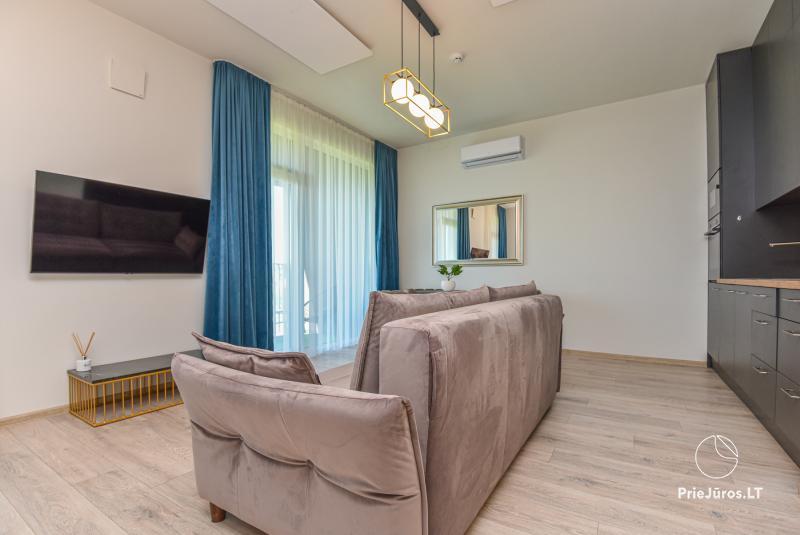Mano jūra apartments su privačiu baseinu Jūsų poilsiui Kunigiškiuose