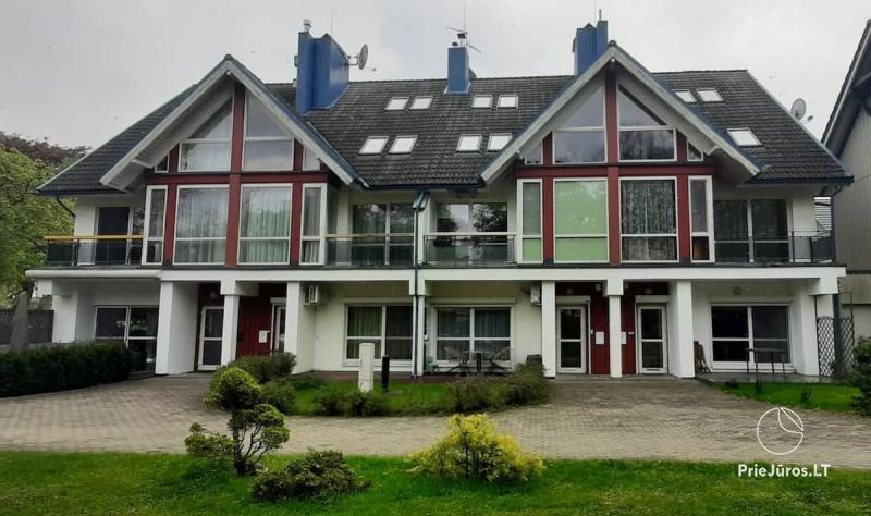 Zweizimmerwohnung mit Terrasse in Juodkrante