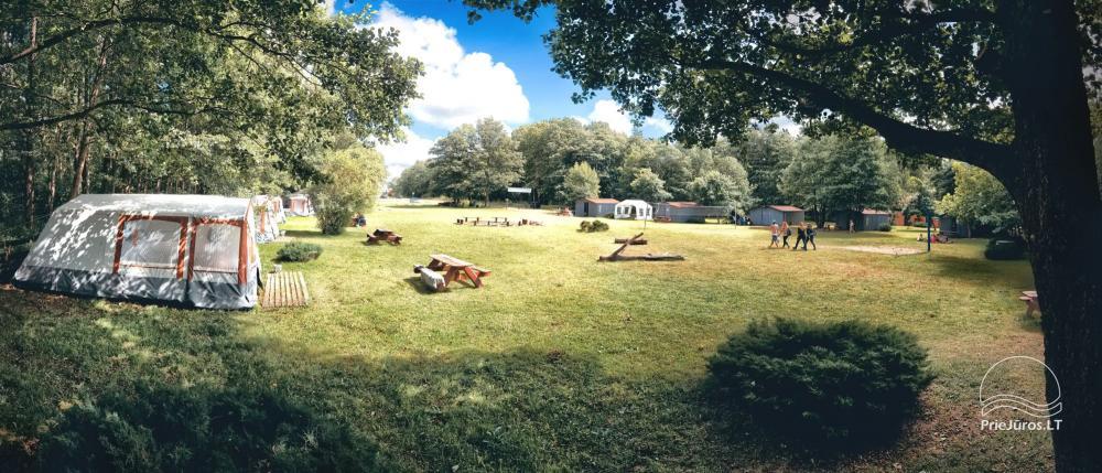 Ferienwohnungen, Zimmer, Ferienhütten, Camping, Haus mit Halle Sodyba prie jūros - 30