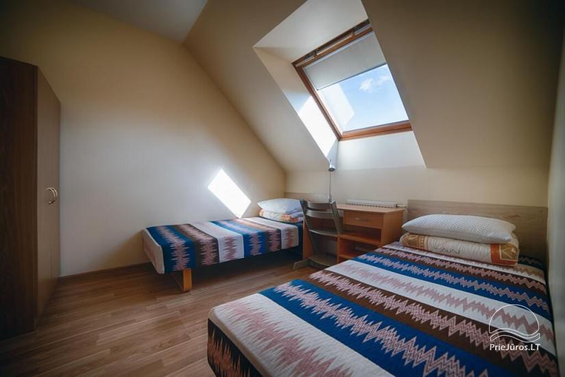 Ferienwohnungen, Zimmer, Ferienhütten, Camping, Haus mit Halle Sodyba prie jūros - 17