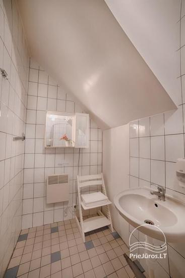 Ferienwohnungen, Zimmer, Ferienhütten, Camping, Haus mit Halle Sodyba prie jūros - 28