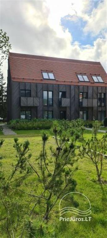 New apartment near Curonian lagoon on the 2nd floor, with balcony