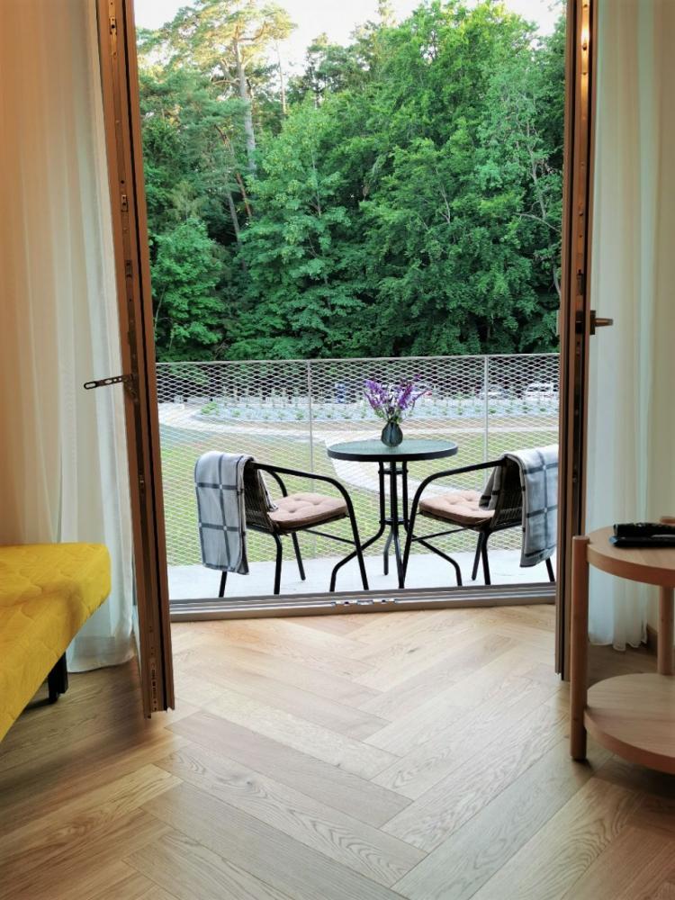 Apartamentai Juodkrantėje naujame komplekse Prie Sengirės - 1