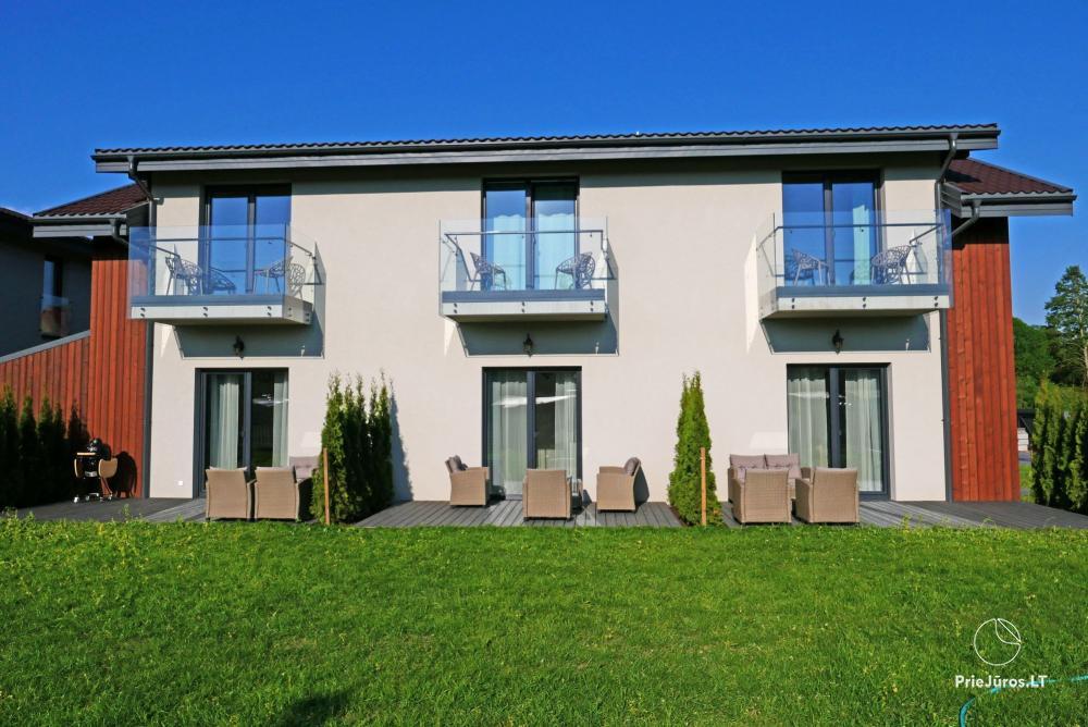 2021 atidaryti apartamentai Kunigiškiuose 2-6 asmenims. Terasos, balkonėliai - 1