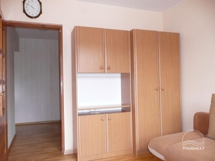 Trijų kambarių butas ANT JŪROS KRANTO Juodkrantėje - 50m iki jūros - 9