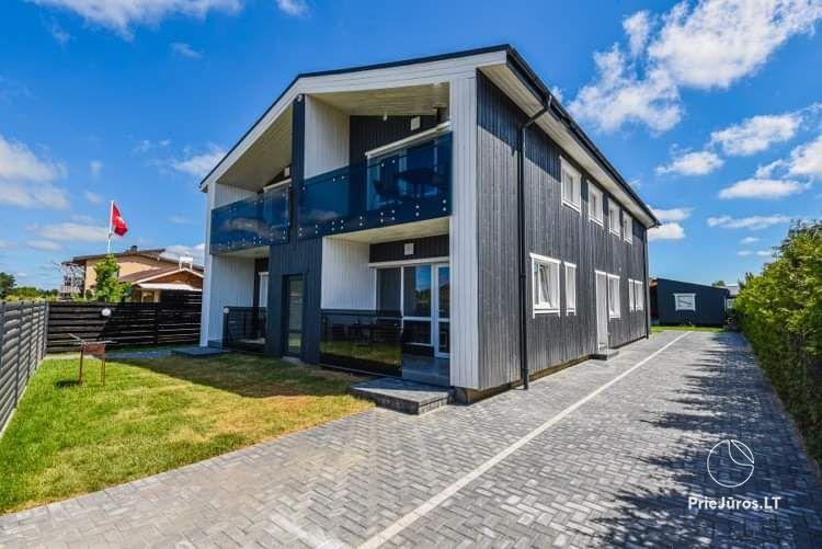 Vyturiai - naujų apartamentų nuoma Šventojoje