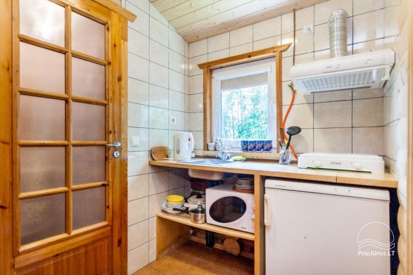 Villa and holiday cottages in Sventoji Aura - 12