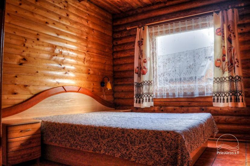 Villa and holiday cottages in Sventoji Aura - 19