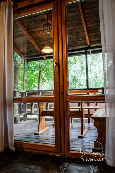 Villa and holiday cottages in Sventoji Aura - 21