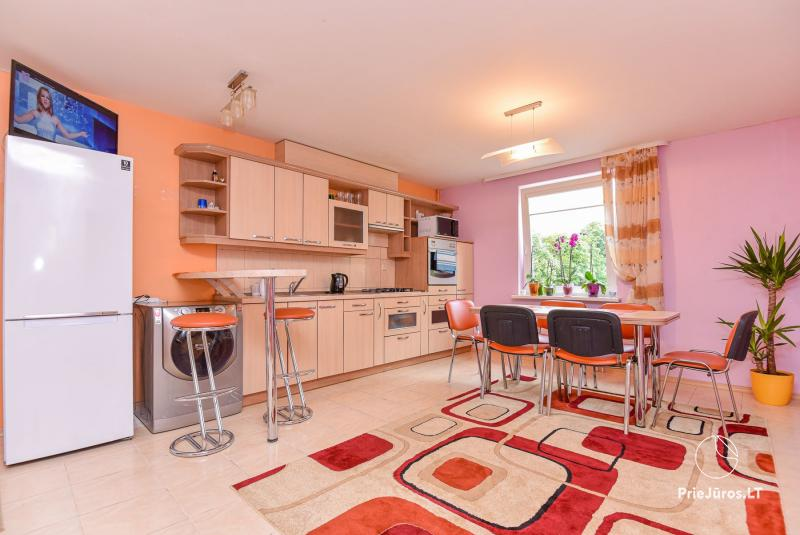 4-8 vietų buto - apartamentų nuoma Palangoje