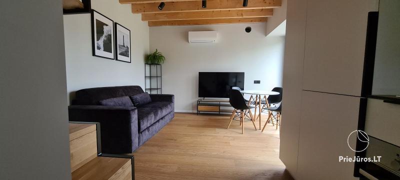 Naujai įrengti apartamentai Svencelės sala