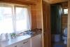 Medinis vieno kambario namelis poilsiui