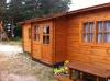 Medinis dviejų kambarių namelis  namelis poilsiui