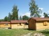 Mediniai vieno kambario nameliai
