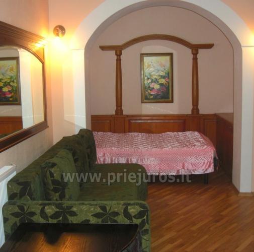 1, 2, 3 Zimmer Appartements in Palanga: Bequemlichkeiten, Mini-Küche,WLAN - 8