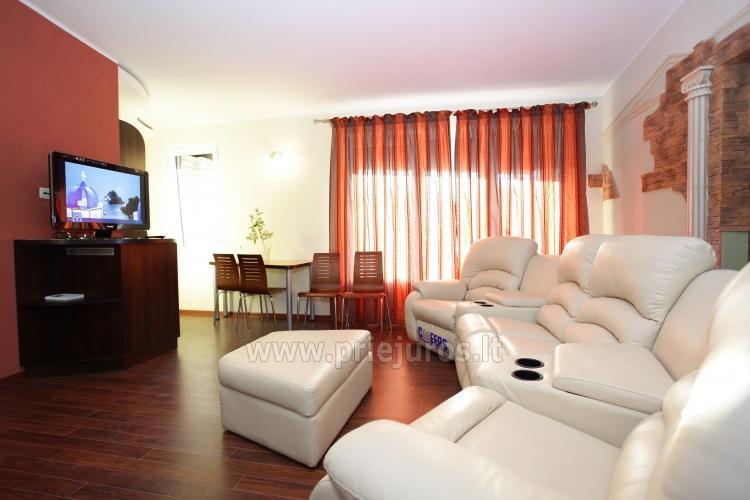 1, 2, 3 Zimmer Appartements in Palanga: Bequemlichkeiten, Mini-Küche,WLAN - 6