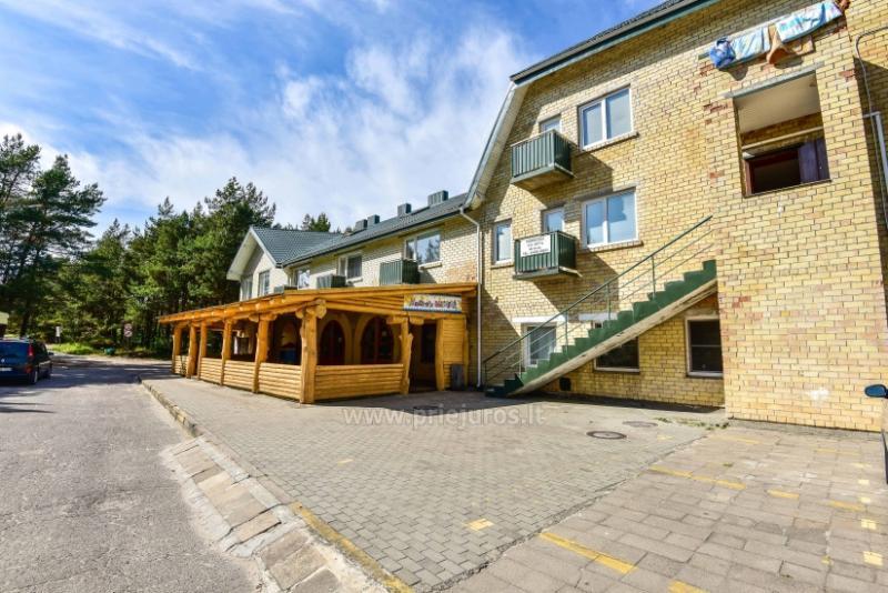 Zwe-Zimmer Ferienwohnung in Sventoji 30 bis Meer! Park Apartment