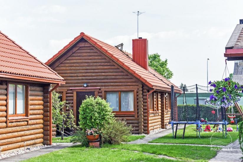 Rąstiniai nameliai, Pievų tk. 5, Šventoji - 28