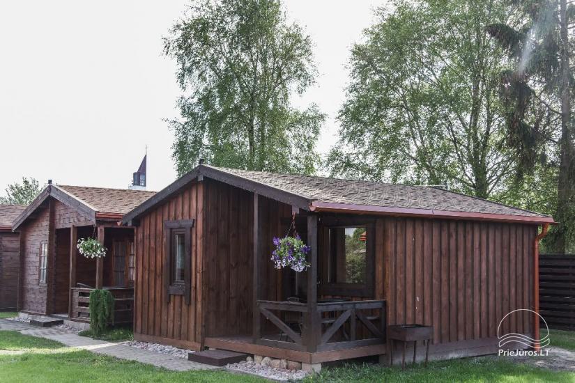Rąstiniai nameliai, Pievų tk. 5, Šventoji - 22