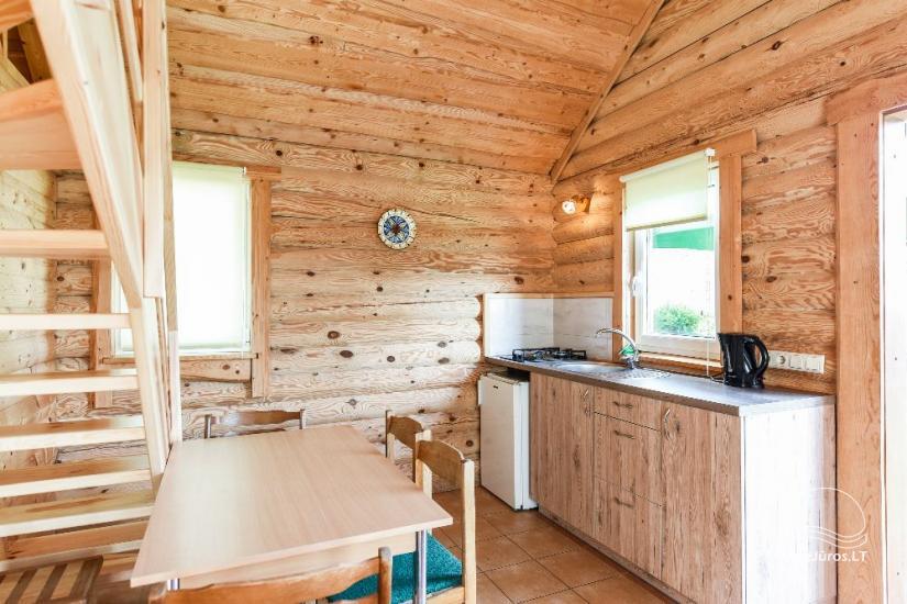 Log-huts in Sventoji - 35