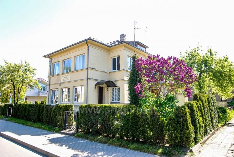 Apartments in Palanga with separate entrances