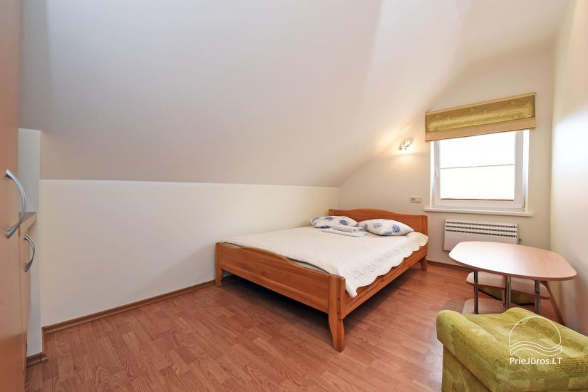 No. 301 Family three-room apartment on the III floor with private shower and WC