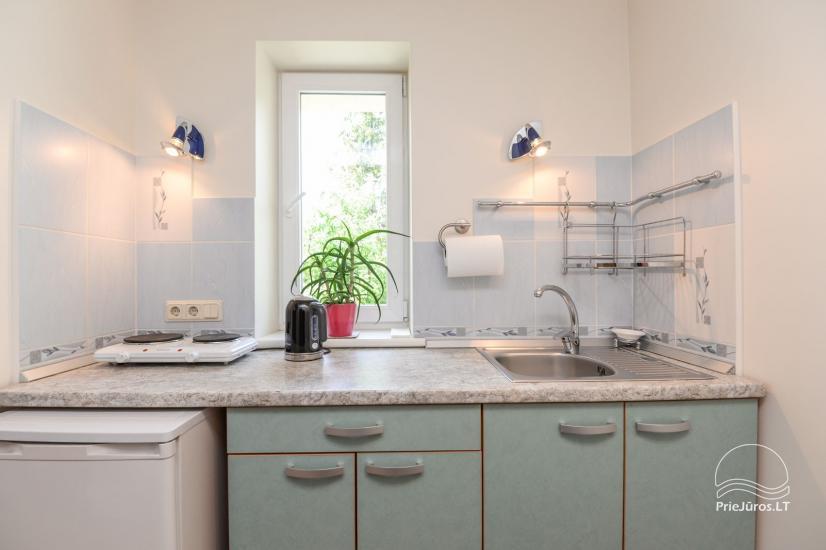 2 kambarių apartamentai su virtuve Nr. 204