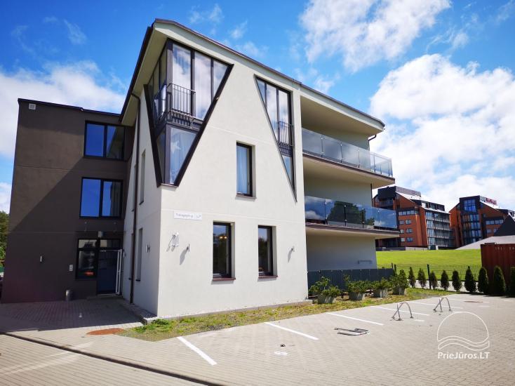 2-istabu dzīvoklis ar terasi īre Palangā - 2