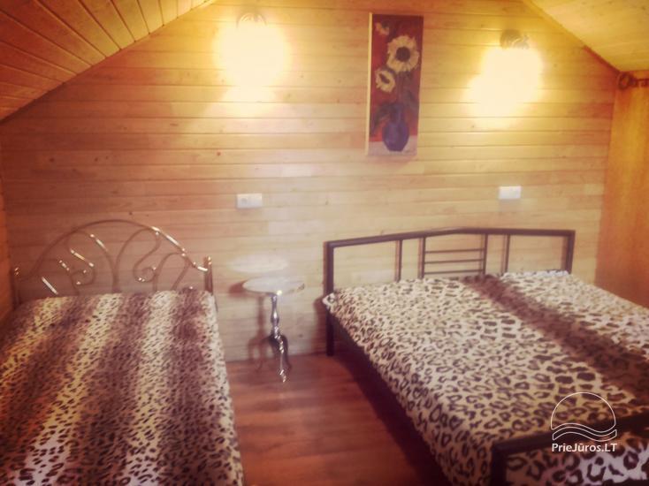 Vasarnamio ir dviviečių kambarių nuoma su atskirais įėjimais Palangoje - 6