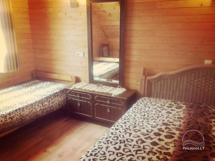 Vasarnamio ir dviviečių kambarių nuoma su atskirais įėjimais Palangoje - 10