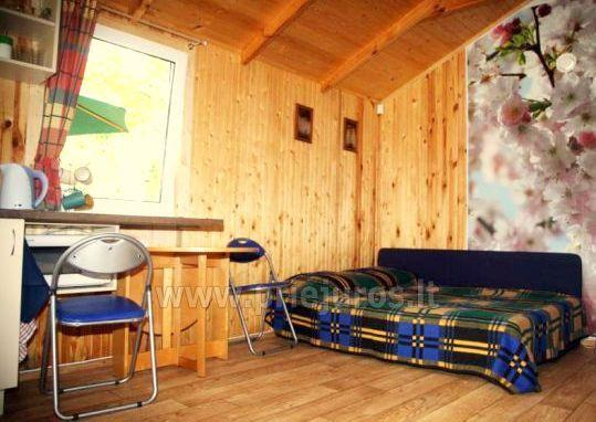 Holiday log-hut with terrace rent in Palanga SAULES NAMELIS, 200m from the sea!
