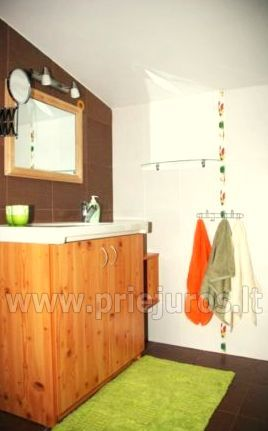 Holiday log-hut with terrace rent in Palanga SAULES NAMELIS, 200m from the sea! - 5