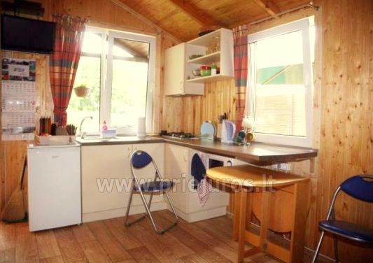 Holiday log-hut with terrace rent in Palanga SAULES NAMELIS, 200m from the sea! - 8