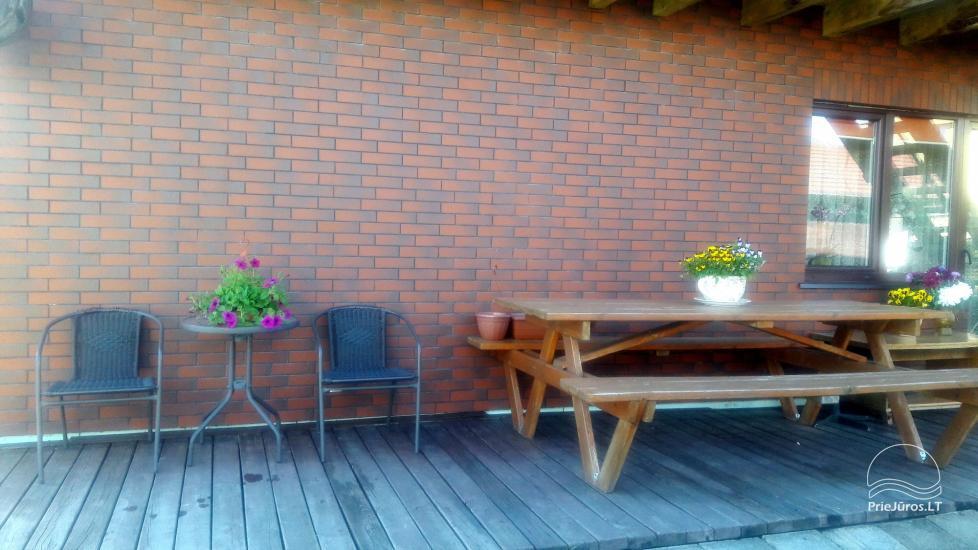 Namelių, kambarių su patogumais nuoma Šventojoje - 6