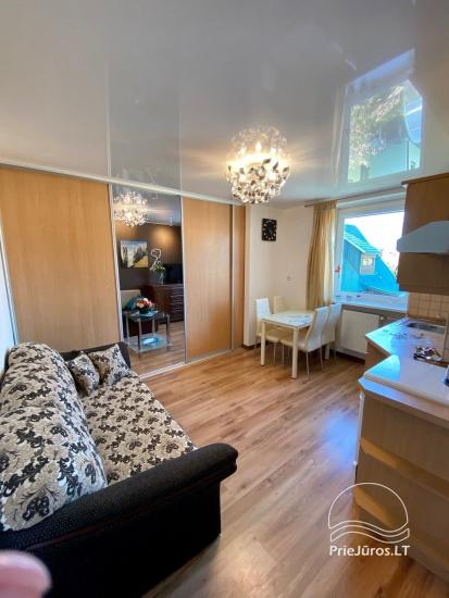 Dviejų kambarių apartamentų nuoma Palangoje. - 6