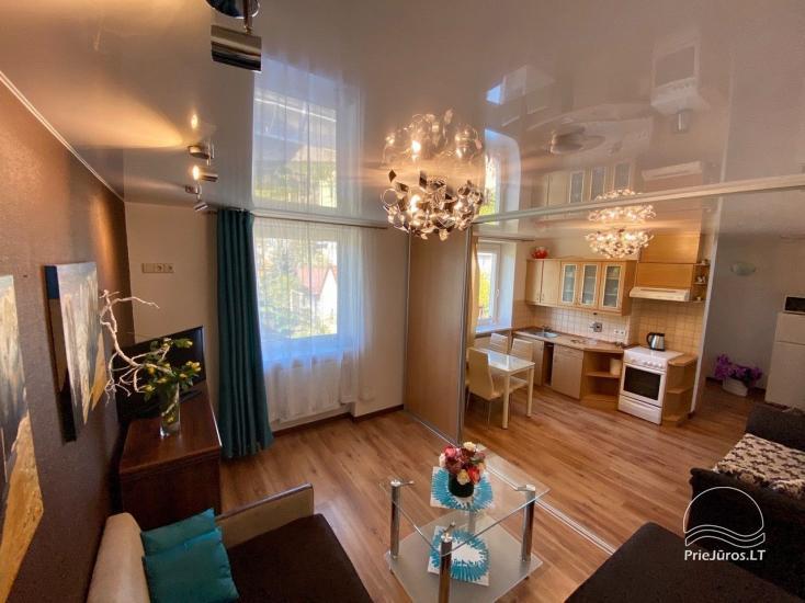 Dviejų kambarių apartamentų nuoma Palangoje. - 1
