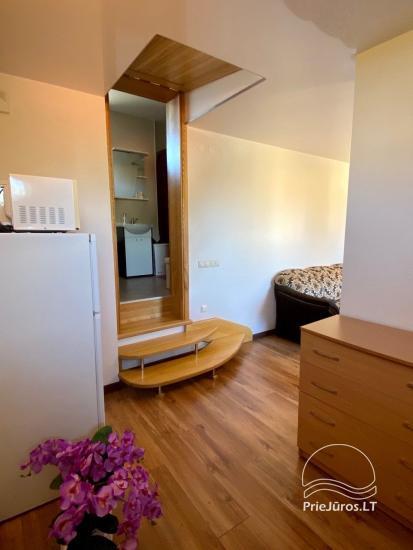 Dviejų kambarių apartamentų nuoma Palangoje. - 8