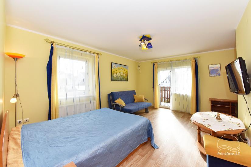 Pietinis kambarys su balkonu 2-3 žmonėms