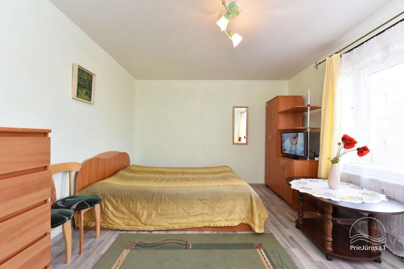 Vakarinis dvivietis kambarys su balkonu Nr.. 1