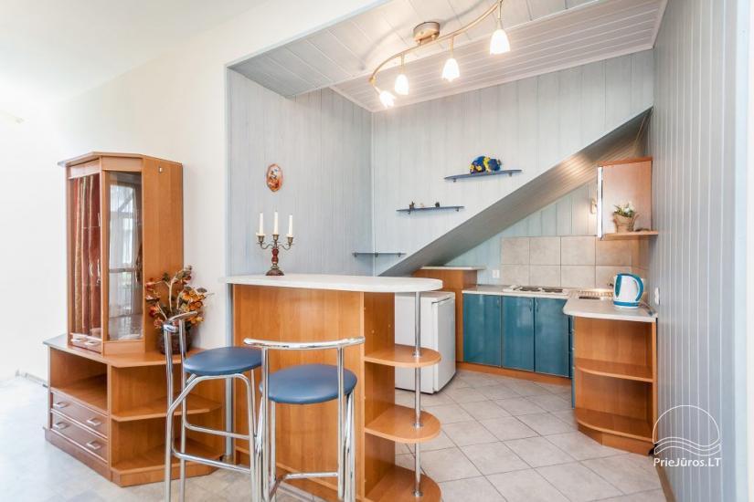 1–3 istabu dzīvokļi Juodkrantē Prie Azuolo – atsevišķas ieejas, virtuves, terases - 29