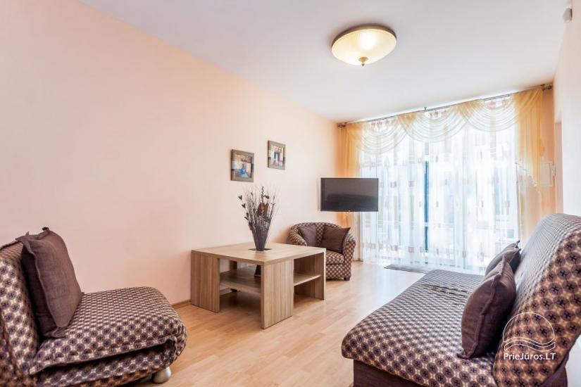 1–3 istabu dzīvokļi Juodkrantē Prie Azuolo – atsevišķas ieejas, virtuves, terases - 34