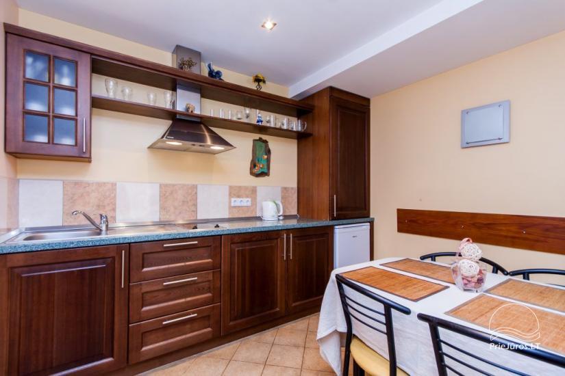 1–3 istabu dzīvokļi Juodkrantē Prie Azuolo – atsevišķas ieejas, virtuves, terases - 37