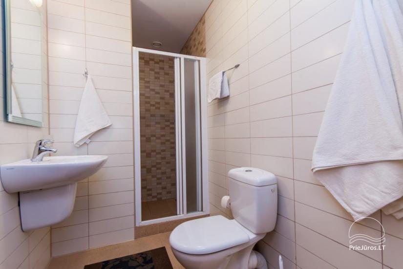 1–3 istabu dzīvokļi Juodkrantē Prie Azuolo – atsevišķas ieejas, virtuves, terases - 41