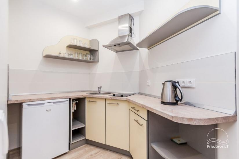 1–3 istabu dzīvokļi Juodkrantē Prie Azuolo – atsevišķas ieejas, virtuves, terases - 45