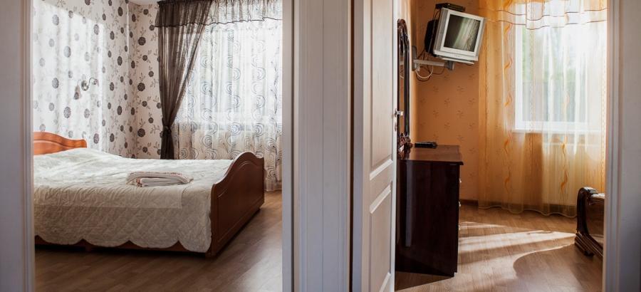 Nr. 3 trijų kambarių šešiaviečiai apartamentai