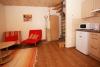 Apartamentai Nr. 1. Svetainė su virtuvėle