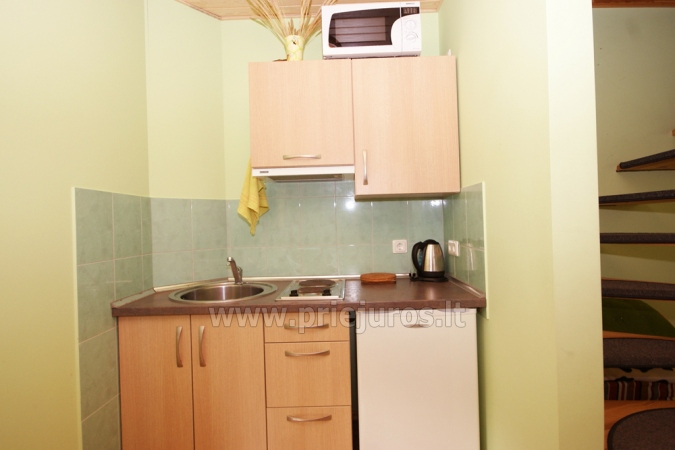 Family apartment No. 2. Living room with kitchenette