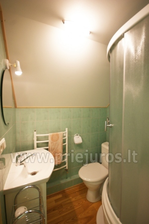 Family apartment No. 2. Shower and WC