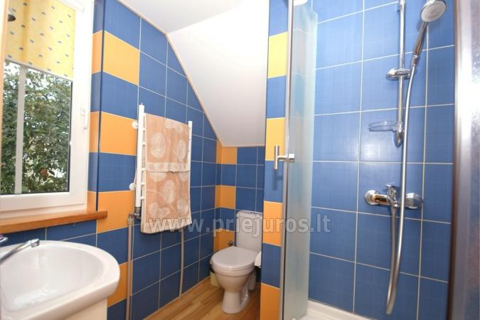 Double apartment, Shower and WC