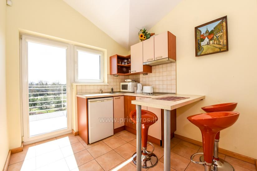 Vila Verbena in Palanga: 2-3 room apartment with balconies or terraces, kitchens. 7min by walk to the sea! - 9